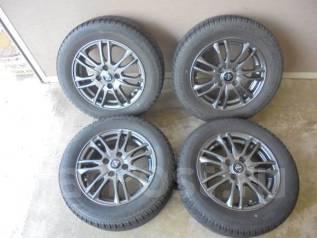Продам резину Bridgestone Blizzak REVO2 175/65R14 на литье. 5.5x14 4x100.00 ET42 ЦО 67,0мм.
