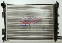 Радиатор охлаждения двигателя. Hyundai: Solaris, i10, Veloster, i20, Accent Kia Rio