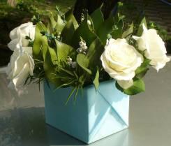 Цветы Ручной работы(ландыши и розы)