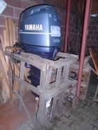 Yamaha. 100,00л.с., 4х тактный, бензин, нога L (508 мм), Год: 2004 год