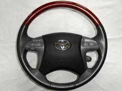 Руль. Toyota: Corolla, Aristo, Noah, Highlander, Aurion, Allex, Avalon, Auris, Mark X Zio, Avensis, Blade, Voxy, Camry, Estima Hybrid, Premio, Altezza...