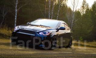 Обвес кузова аэродинамический. Hyundai Solaris, RB Двигатели: G4FC, G4FA. Под заказ