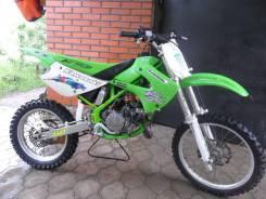 Kawasaki KX 80. 100 куб. см., исправен, птс, без пробега