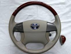 Руль. Toyota: Corolla, Voxy, Mark X Zio, Auris, Allion, Altezza, Highlander, Blade, Noah, Avalon, Camry, Allex, Premio, Aurion, Avensis, Estima Hybrid...