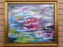 """Продам собственную картину. Холст. Масло. 50х60 см. """"На берегу неба""""."""