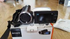Sony HDR-PJ330E. с объективом