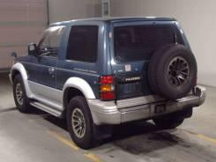 Задняя часть автомобиля. Mitsubishi Pajero, V26W, V24V, V25W, V24W, V23W, V24WG, V26WG, V21W, V26C, V25C, V24C, V23C