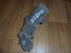 Патрубок воздухозаборника. Toyota Corona Exiv, ST200 Двигатели: 4SFE, 4SFI