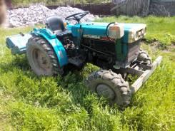 Mitsubishi. Продам трактор 15 л. с. 4вд, фреза, телега., 900 куб. см.
