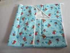 Полотенце для малыша с уголком-капюшоном