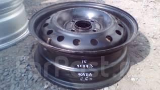 Honda. 5.5x15, 4x114.30, ЦО 64,0мм.