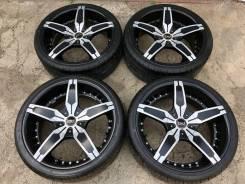 Брендовые колёса Blaque Diamond RF-1+Шины 235/35R20 без износа!. 8.5x20 ET35
