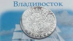 Польша 6 Грошей (шостак) 1665 Ян Казимир серебро