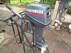 Yamaha. 8,00л.с., 2х тактный, бензин, нога S (381 мм)