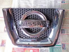 Эмблема решетки. Nissan Dualis, KNJ10, KJ10, NJ10, J10 Nissan Qashqai Nissan Qashqai+2 Двигатели: MR20DE, K9K, R9M, HR16DE, M9R