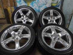 Продам Стильные Модный Хром Toyota Aristo+Лето Бонус 235/45R17. 8.0x17 5x114.30 ET50