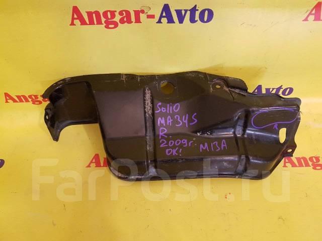 Защита двигателя пластиковая. Suzuki Wagon R Solio, MA34S, MA63S, MA64S Suzuki Wagon R Wide, MA34S, MA63S, MA64S Suzuki Solio, MA34S Suzuki Wagon R Pl...