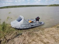 Лодка Cayman N330 с мотором Tohatsu 9.8. Год: 2017 год, двигатель подвесной, бензин