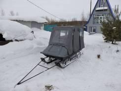 Продам пассажирские сани для снегохода. Г/п: 300 кг., масса: 100,00кг.