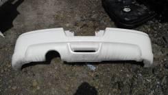 Накладка на бампер. Nissan Tiida, C11 Двигатель HR15DE