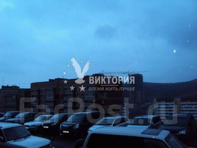 2-комнатная, улица Анны Щетининой 28. Снеговая падь, проверенное агентство, 54 кв.м. Вид из окна днём