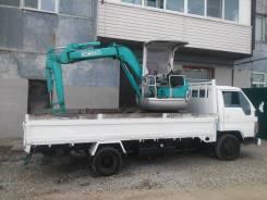 Услуги экскаватора 3 тонны, бесплатная доставка