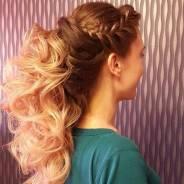 Создание причесок и плетение кос, недорого! Макияж.