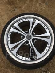 """Одно колесо WEDS Kranze R19 с летней резиной. 8.5x19"""" 5x114.30 ET41"""
