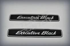 Эмблема (шильдик) Executive Black Land Cruiser 200 НЕ Китай. Toyota Land Cruiser, URJ200, URJ202, URJ202W, UZJ200, UZJ200W, VDJ200