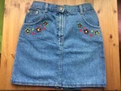 Юбки джинсовые. Рост: 140-146 см