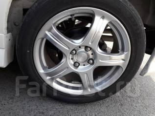 Классные колеса 205/50R16 fit, fielder, corolla, vitz, insight. 6.5x16 4x100.00 ET42 ЦО 73,0мм.
