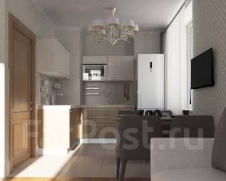 2-комнатная, улица Истомина 44. Центральный, частное лицо, 44 кв.м.