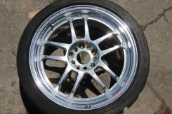 Racing Hart. 8.5x18, 5x114.30, ET35