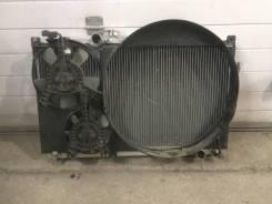 Радиатор охлаждения двигателя. Toyota Chaser, JZX90, JZX100 Двигатель MTEU