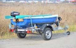 Автоприцеп 8213В5 Водник в наличии в Иркутске 5.10х1.94м. Г/п: 540 кг., масса: 750,00кг.