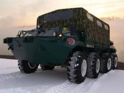 ГАЗ 59037. Газ 59037 на базе БТР-80 (вездеход амфибия), 5 000 кг., 14 000,00кг.