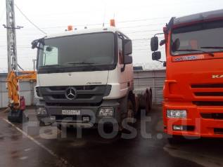 Mercedes-Benz Actros. Mercedes-BENZ Actros 3341S 6Х4, 7 000 куб. см., 33 000 кг.