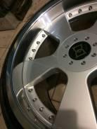 Разноширокие диски DEVA с резиной Goodier R19. 10.0/9.0x19 5x114.30 ET-38/-38