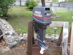 Yamaha. 50,00л.с., 2-тактный, бензиновый, нога L (508 мм), Год: 1998 год