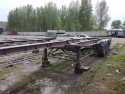 Сзап 9908. Контейнеровоз Schmitz низкорамный. Аренда, 35 000 кг.