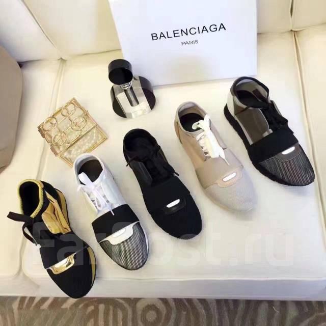 884278ee Красивые модные кроссы Balenciaga ! Нат. кожа! №526 - Обувь во ...
