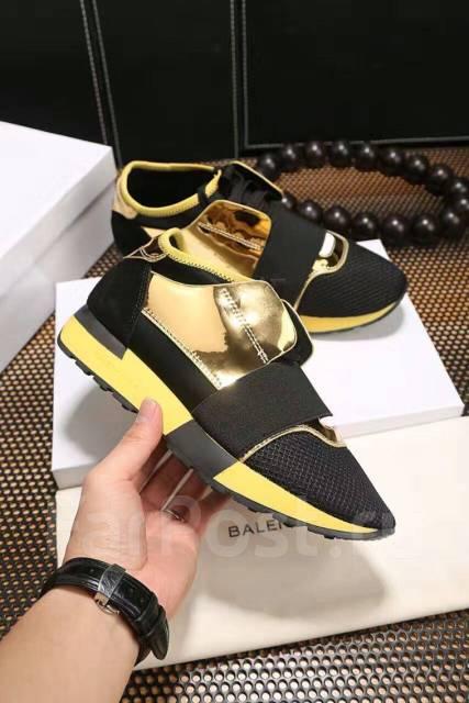 66ecf136 Красивые модные кроссы Balenciaga ! Нат. кожа! №526 во Владивостоке