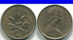 5 центов 1966 Австралия Фауна