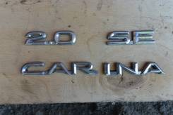 Эмблема. Toyota Carina, ST190, CT190, CT195, AT190, ST195, AT191, AT192 Двигатели: 3SFE, 7AFE, 2C, 5AFE, 4AFE, 4SFE