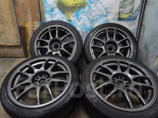 Продам Крутые Редкие Work Emotion CR-KAI+Лето215/40/45R17Toyota, Subaru. 8.0x17 5x100.00 ET32