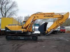 Hyundai R220LC. Экскаватор гусеничный -9S б/у (2012 г., 5230 м. ч. ), 1 000 куб. см., 1,43куб. м.
