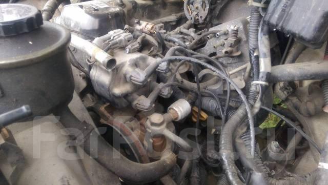 Двигатель в сборе. Toyota Hiace Regius