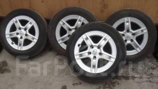 Комплект летних колес 205/60R16 Dunlop. 6.5x16 5x114.30 ET39