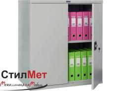 Шкаф металлический архивный СВ-13 , размер 930x850x500 мм