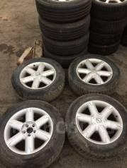 Комплект колес зима 235/60R18 Nokian Hakkapeliitta. 7.5x18 5x114.30 ET40 ЦО 64,0мм.